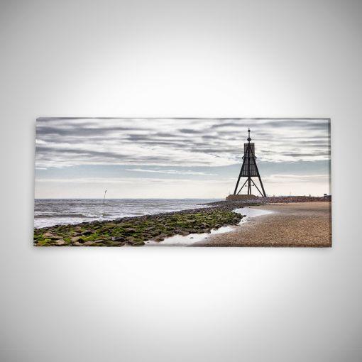 Kugelbake Panorama | Leinwand Galerie Print