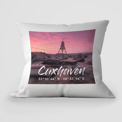 Cuxhaven Kugelbake | Kissen