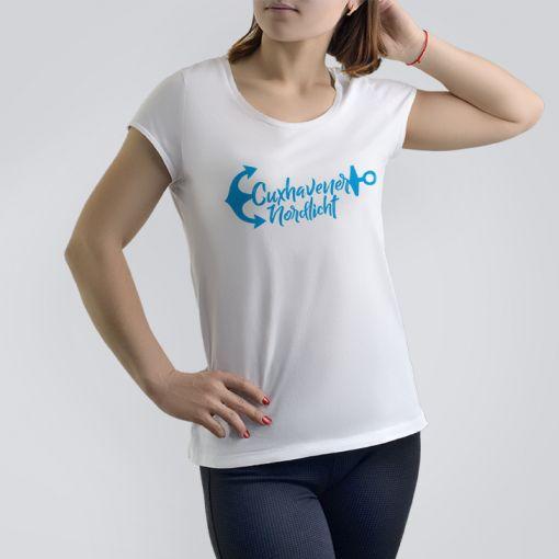 Cuxhavener Nordlicht | Damen T-Shirt
