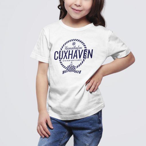Heimathafen Cuxhaven | Kids T-Shirt Mädchen