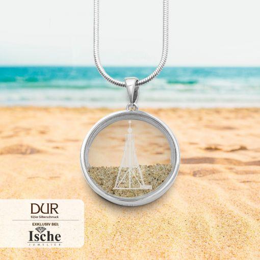"""Anhänger """"Beach"""" mit Strandsand   Schmuck"""