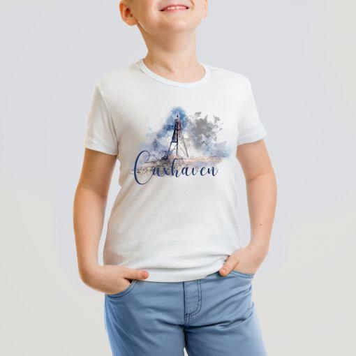 CuxShirt - Motiv: Kugelbake Aquarell | Kids T-Shirt Jungs