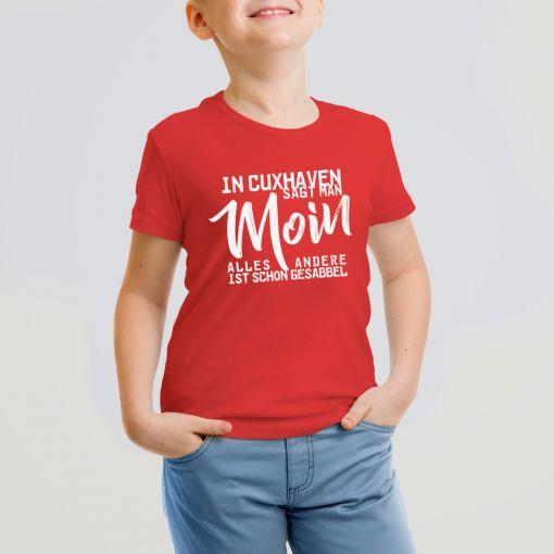 In Cuxhaven sagt man | Kids T-Shirt Jungs