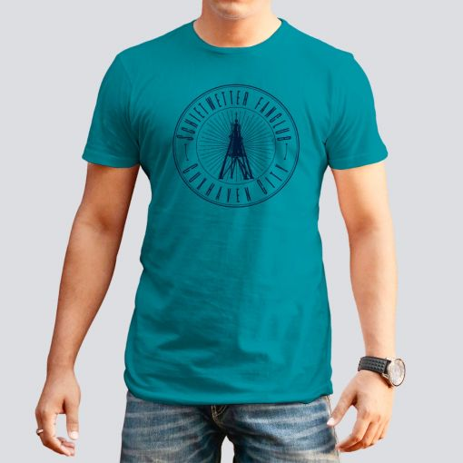 CuxShirt - Motiv: Schietwetter Fanclub Cuxhaven | Herren T-Shirt