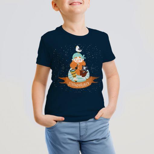 Strandräuber | Kids T-Shirt Jungs