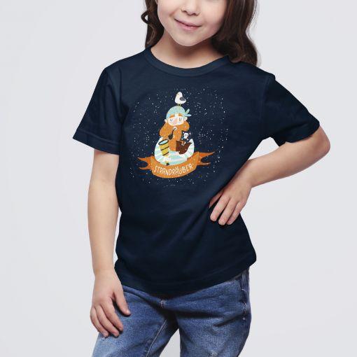 Strandräuber   Kids T-Shirt Mädchen