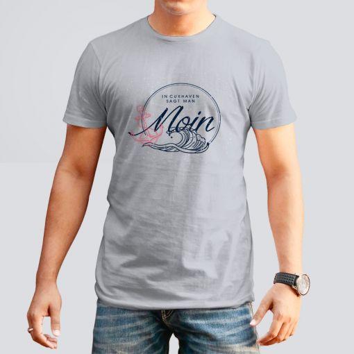 CuxShirt - Motiv: Moin Cuxhaven | Herren T-Shirt