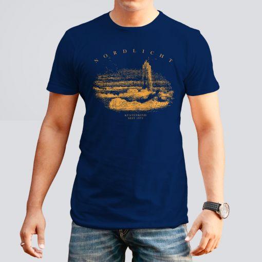 CuxShirt - Motiv: Nordlicht | Herren T-hirt