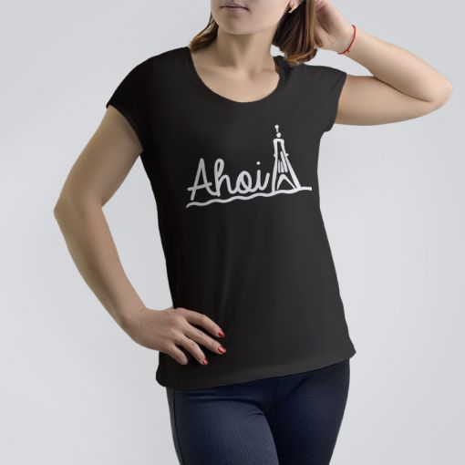 CuxShirt - Motiv: Ahoi Kugelbake | Damen Shirt