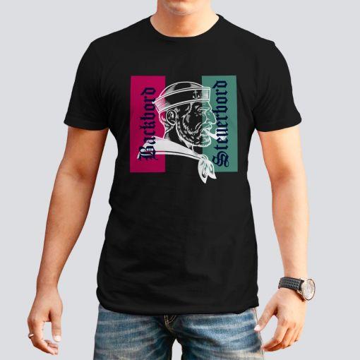 CuxShirt - Motiv: Steuerbord & Backbord | Herren T-Shirt