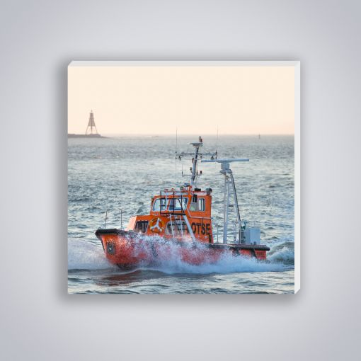 Lotsenschiff Kugelbake | Mini Galerie Print