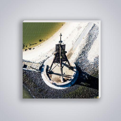 Kugelbake von oben | Mini Galerie Print