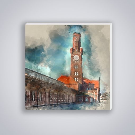 Hapag Hallen Aquarell | Mini Galerie Print