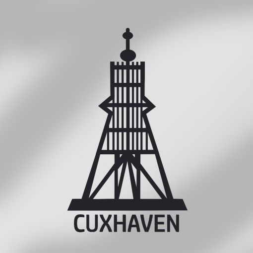 Exklusive Kugelbake Cuxhaven | Autoaufkleber