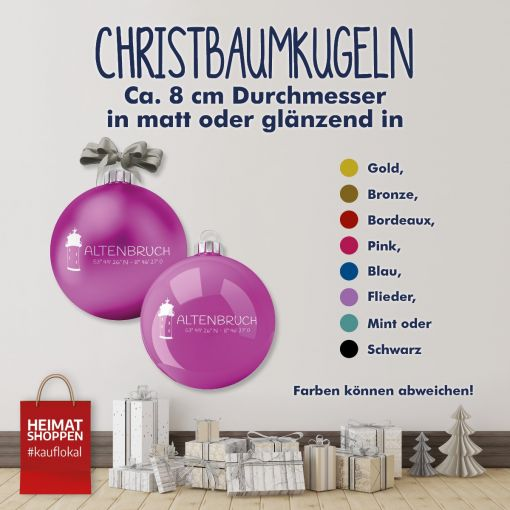 Altenbruch | Christbaumkugel