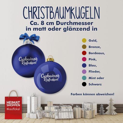 Cuxhavener Küstenkind | Christbaumkugel