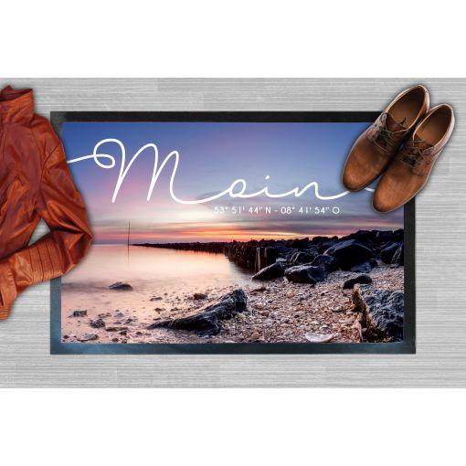 CuxMatte - Motiv: Strand Moin   Fußmatte