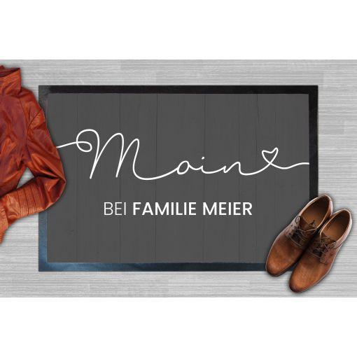 Moin Name | Fußmatte