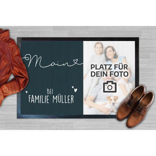 Moin Bild und Name | Fußmatte