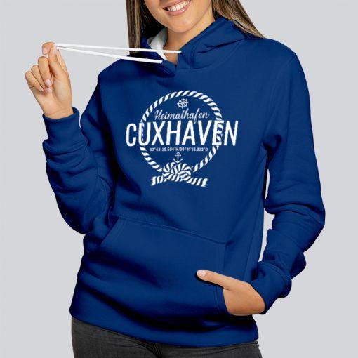 Heimathafen Cuxhaven | Damen Hoodie