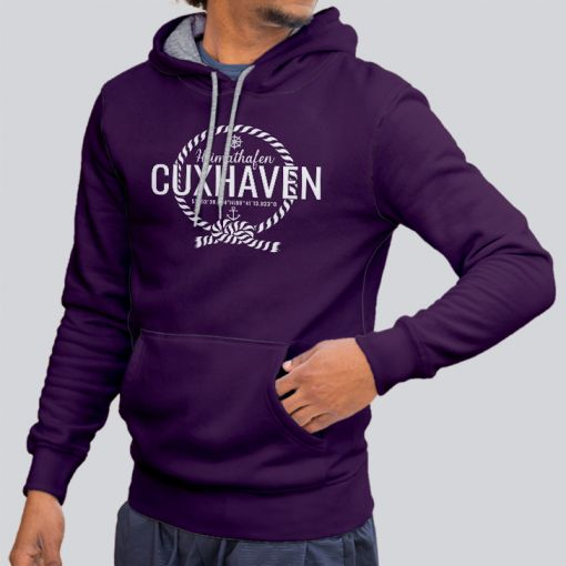 Heimathafen Cuxhaven | Herren Hoodie