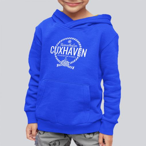 Heimathafen Cuxhaven | Jungen Hoodie