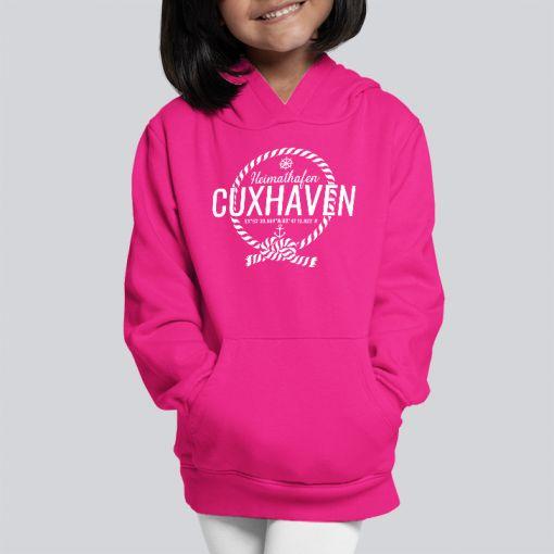 Heimathafen Cuxhaven | Mädchen Hoodie