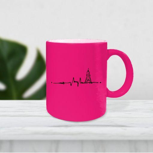 EKG Kugelbake | Neontassen