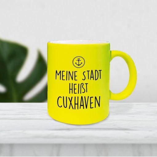Meine Stadt heißt Cuxhaven | Neontasse