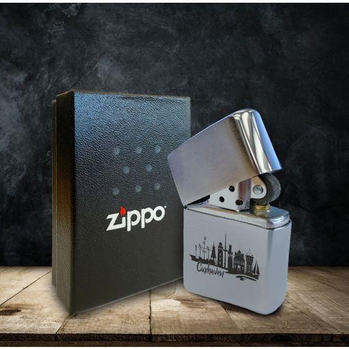 CuxZippo - Motiv: Skyline Cuxhaven   Zippo