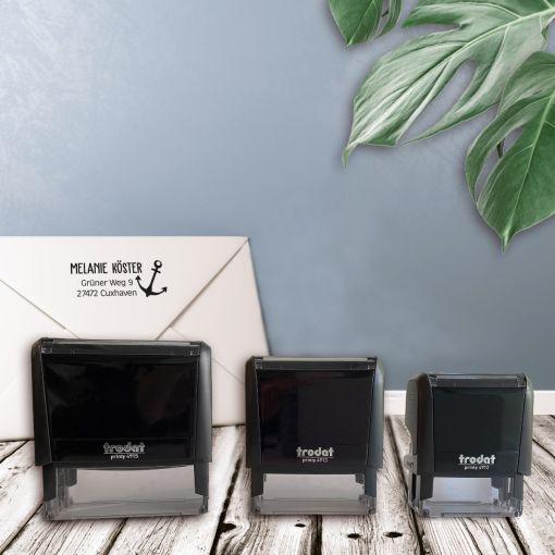 CuxStempel - Adress-Stempel Eckig | Stempelautomat