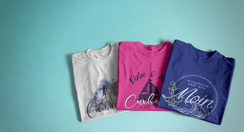 Cuxhaven Shirts und Bekleidung online kaufen